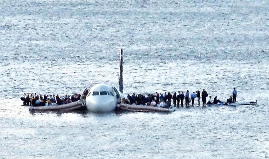 全美航空1549号航班水上迫降 全员生还
