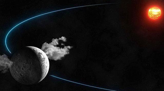 """2015年3月美国宇航局""""黎明号""""探测器将抵达谷神星轨道 或揭晓其是否具备生命宜居性"""