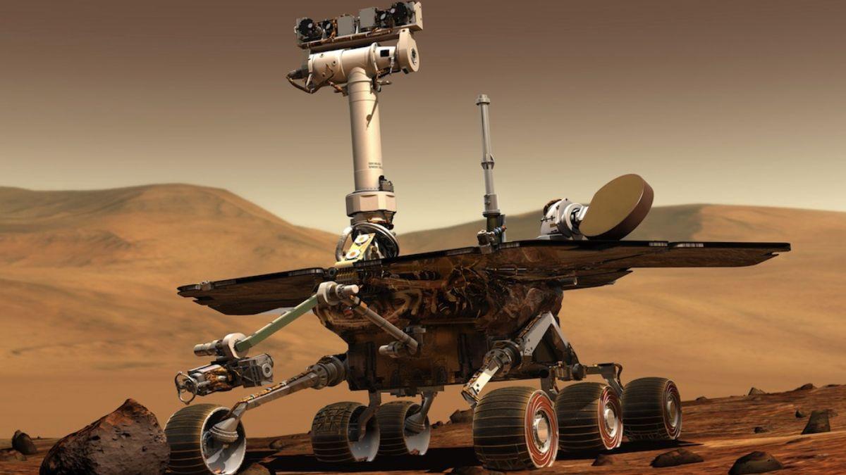 """美国航天局(NASA)的""""好奇""""号火星车度过了探索火星表面的一个火星年(相当于687个地球日)。"""