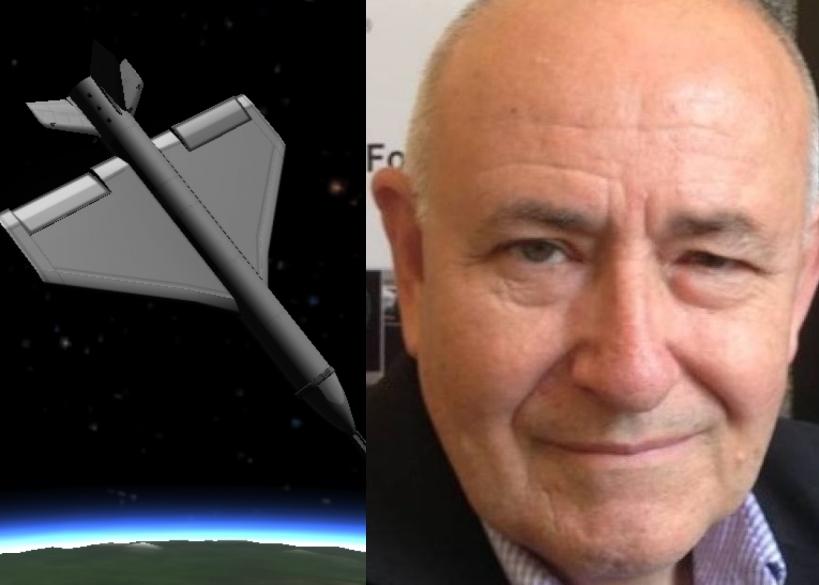 布兰德(左图)声称该个飞行器飞抵火星后,可重返地球大气层。