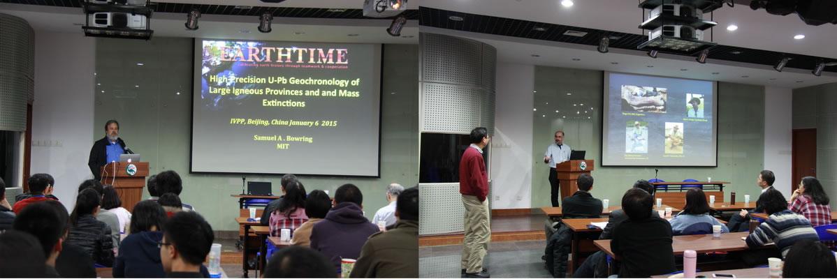 """""""杨钟健-裴文中""""学术讲坛邀MIT教授来访讲学"""