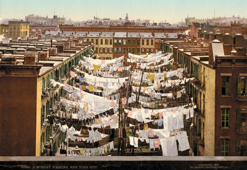 纽约于百多年前已经是一个繁华的大都市