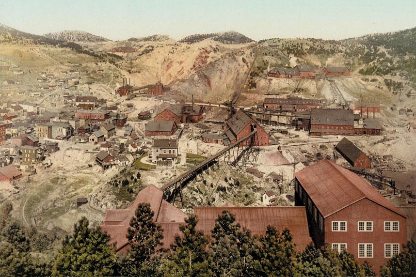 当时南达科他州的矿业非常蓬勃