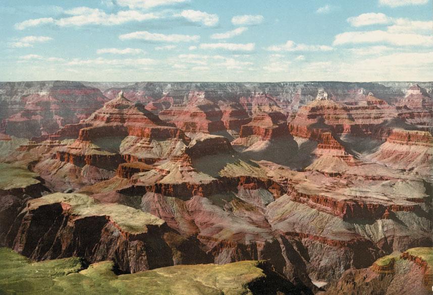 大峡谷是亚利桑那州的主要景点