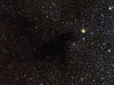 欧洲南方天文台最新拍摄的巨蛇座暗星云LDN 483