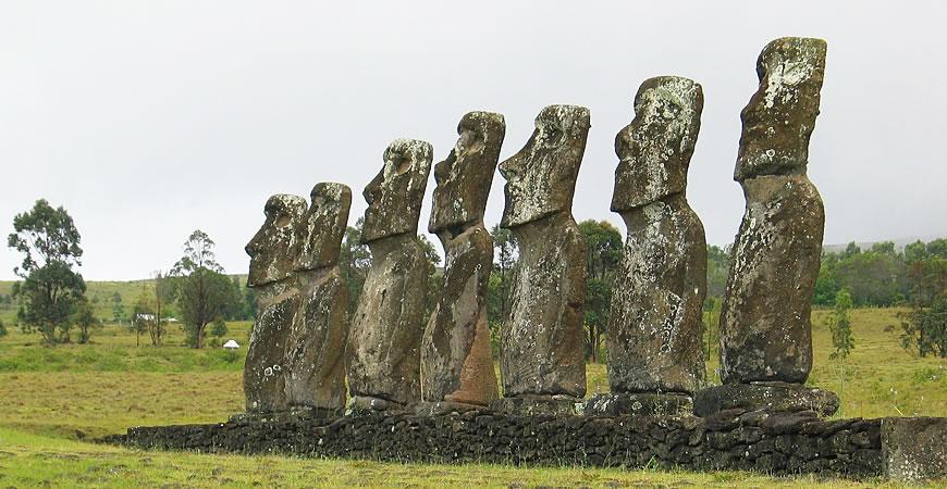 欧洲人的奴役和疾病致复活节岛文明衰落