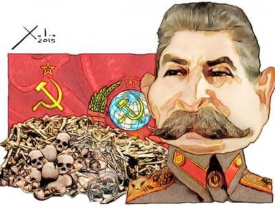 """俄国媒体把前苏联独裁者斯大林称为""""嗜血食人者"""" 斯大林孙子申诉被驳回"""