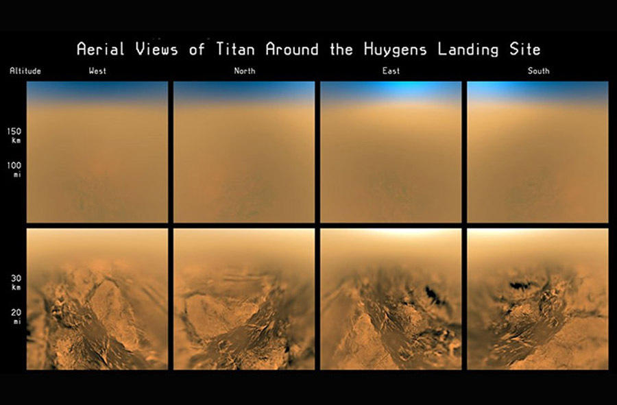 惠更斯探测器属于卡西尼飞船的一部分,在经过7年的空间飞行后,卡西尼探测器安全抵达土星轨道,之后惠更斯探测器与母船飞离,在为期21天的巡航降落过程中,惠更斯探测器
