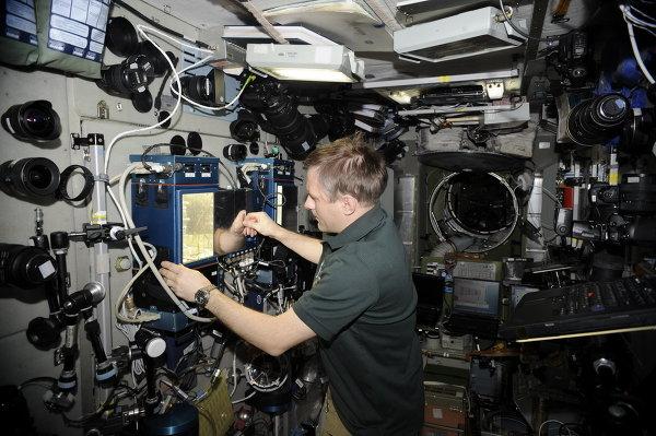 国际太空站宇航员将可吃到昂贵的鲟鱼鱼子酱以及无糖绿茶