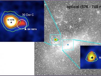 在大麦哲伦星云中检测到伽马射线源