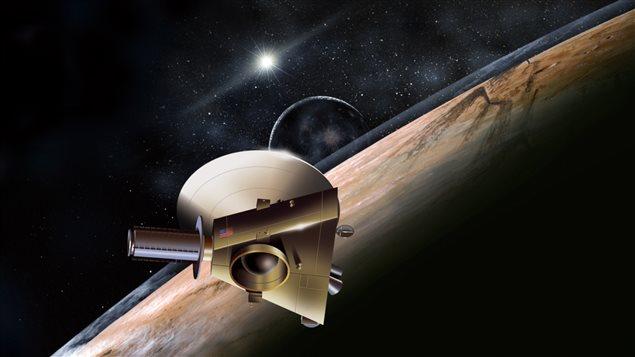 """将冥王星""""亲密接触"""":新视野号即将打开探索柯伊柏带新世界的大门"""