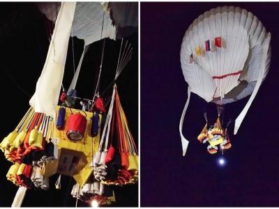 美俄探险家气球渡太平洋 试图破两世界纪录