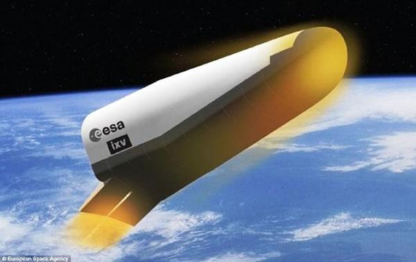 """""""过渡试验飞行器(Intermediate eXperimental Vehicle,简称IXV)"""