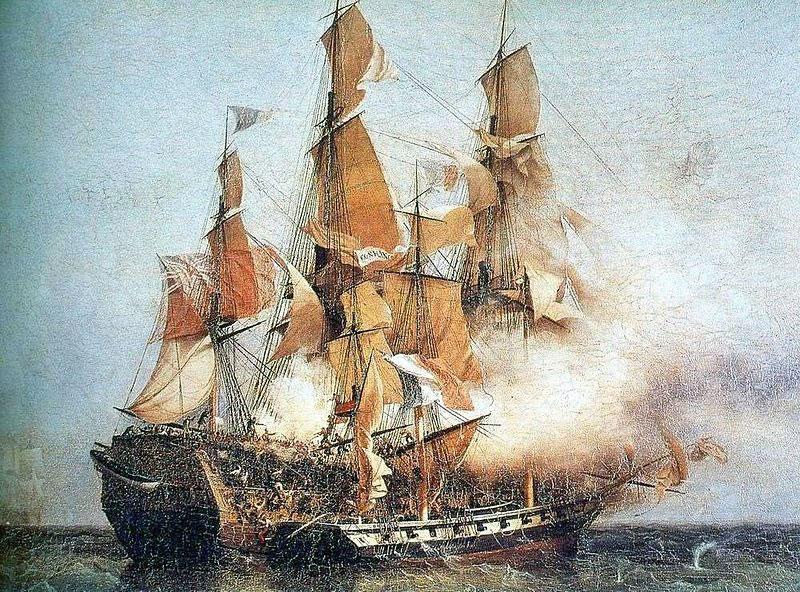 文件显示,西班牙计划派出舰队攻打澳洲。图为当时的西班牙军舰。