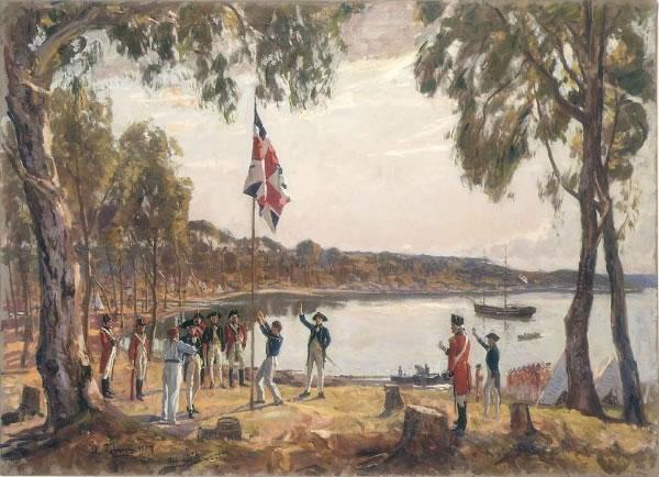 英国人在悉尼建立据点