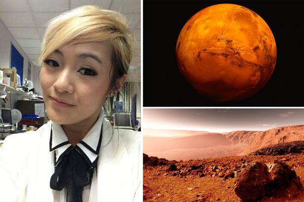 """若玛吉成功进入""""火星40人""""之列,将极有可能成为首个在火星诞婴的女子。"""