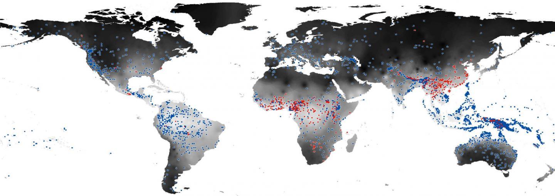 研究人员发现气候湿度对人类语言进化影响较大