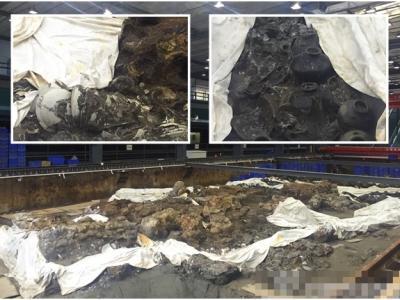 """在海底沉睡800多年的南宋古沉船""""南海一号""""完成保护发掘"""