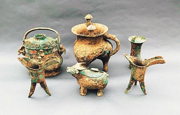 周原遗址聚落首次发现西周社祭建筑遗存图片