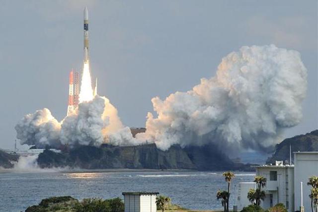 本次日本发射的间谍卫星由三菱重工研制,发射场地位于种子岛宇宙中心