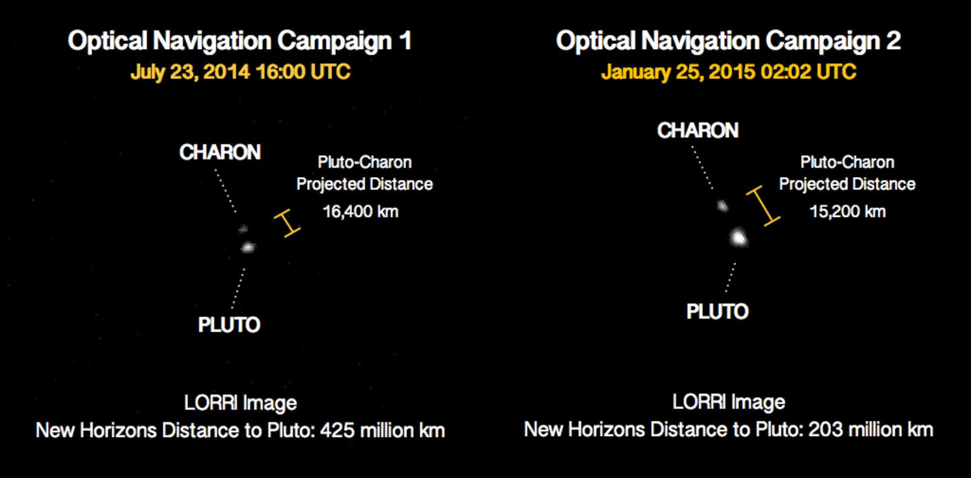 """美国NASA""""新视野""""号探测器发回冥王星最新图像"""