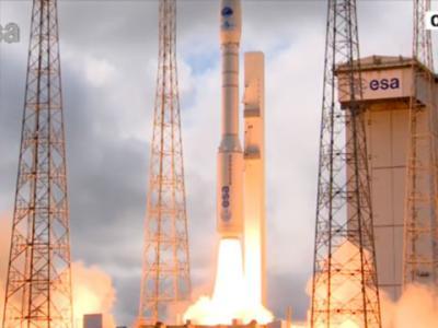 欧洲空间局过渡性试验飞行器(IXV)成功发射