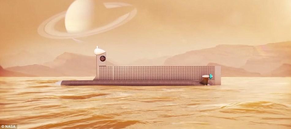 土卫六的大气主要由氮气和甲烷组成,其大气压强相当于地球大气的1.5倍,而其地表温度则大约为零下179摄氏度,寒冷刺骨。
