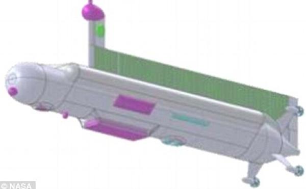 这样的飞行器将能够承受超音速状态下冲入土卫六大气层的极端情况并安全释放其运送的潜艇。