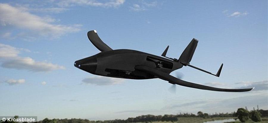 根据飞行程序,验证机能够进行24分钟的旋翼动力飞行和40分钟的固定翼飞行。显然该航空器具备了短距垂直起降能力,能够抛弃传统的跑道在任何一处平坦的场地降落。该公司