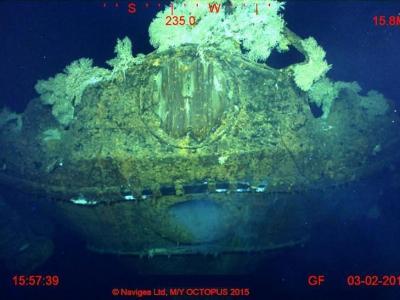 微软始创人Paul Allen转战考古:菲律宾海域发现二战日军大和级战列舰武藏号遗骸