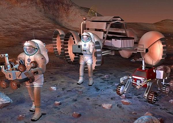 科学家尝试在火星上制造氧气