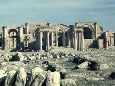 """极端组织""""伊斯兰国""""(ISIS)又将魔爪伸向另一个世界文化遗产--哈特拉古城(Hatra)"""