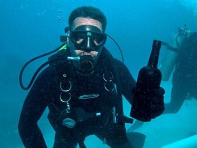 百慕大水域沉没的南北战争时期Mary Celestia号沉船中发现151年历史佳酿