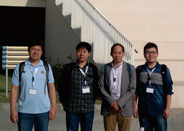 南京古生物所王向东副所长、林巍博士、梁昆博士和要乐硕士生等4人参加会议