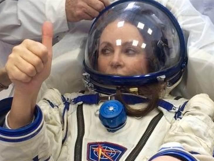 英国女高音歌手Sarah Brightman即将飞往国际太空站 在太空举行演唱会
