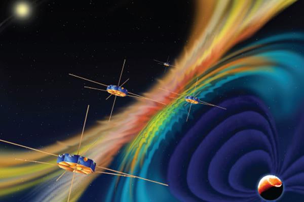 美国宇航局发射磁层多尺度任务(MMS)进行地日探测任务