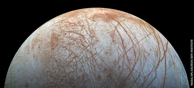 人类可能在木卫二上发现生命痕迹