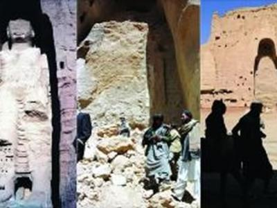 塔利班如何炸毁阿富汗巴米扬大佛