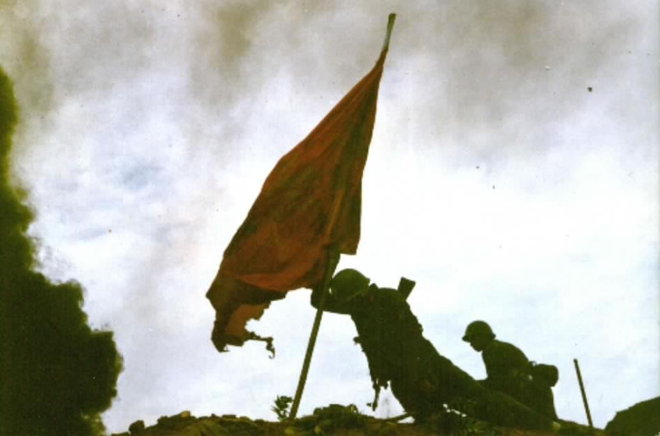 对越自卫反击战收复老山战斗中的插旗英雄罗仕忠仍健在 原以为已牺牲