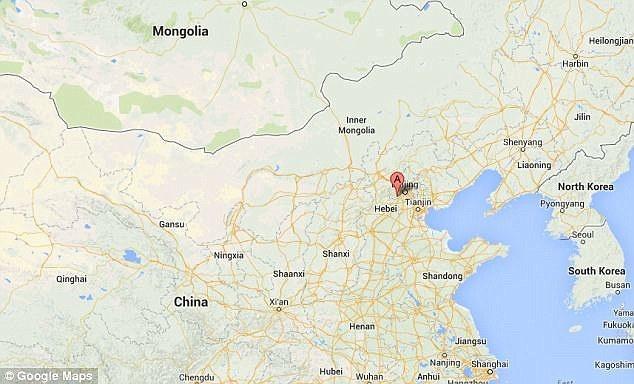 包括大量牙齿化石在内的北京猿人化石是上世纪20年代在北京周口店(地图中A的位置)发现的。由于第二次世界大战导致的局势混乱,绝大多数北京猿人化石遗失。