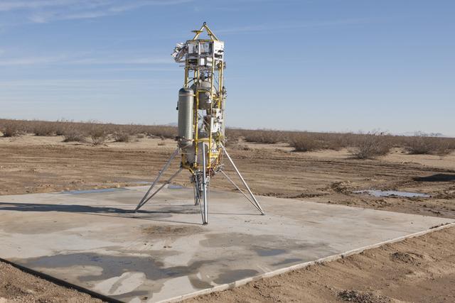 火星着陆器外观,该技术可用于登陆其他太阳系天体