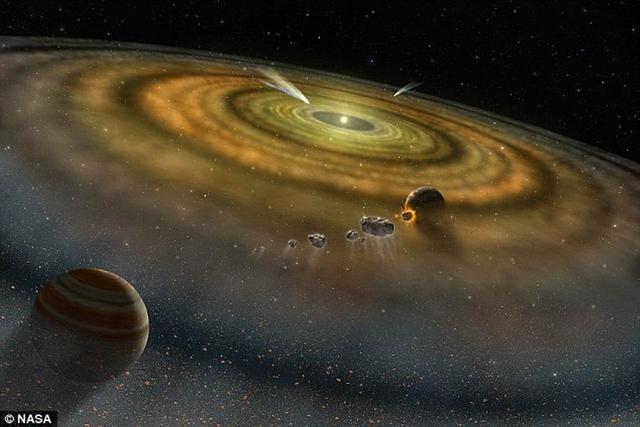 研究人员证实这种准晶体形成于45.7亿年前,当时正值太阳系形成初期。