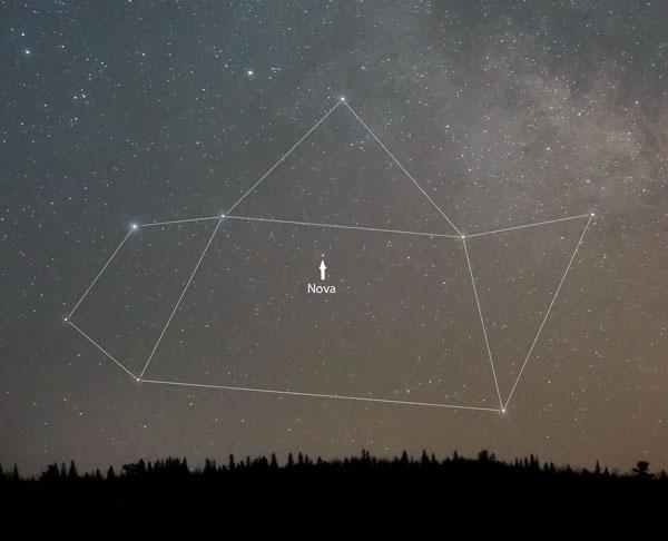 澳大利亚天文爱好者John Seach发现的人马座新星