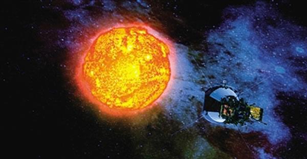 """美国NASA将于2018年7月31日把""""太阳探测附加(SPP)""""送入太阳上方大气层"""