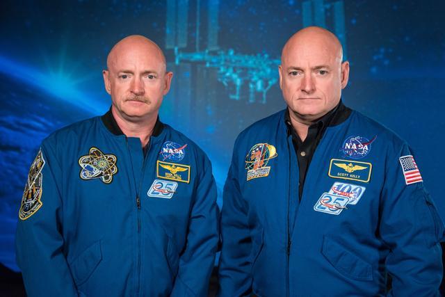 """美国宇航局计划对双胞胎宇航员进行一项名为""""比较基因研究""""的实验"""