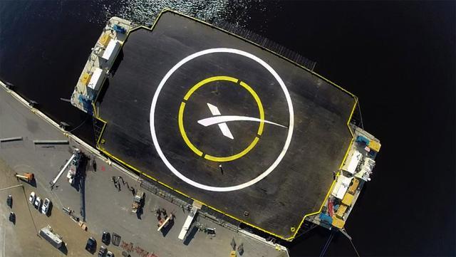 供火箭降落回收的海上作业平台