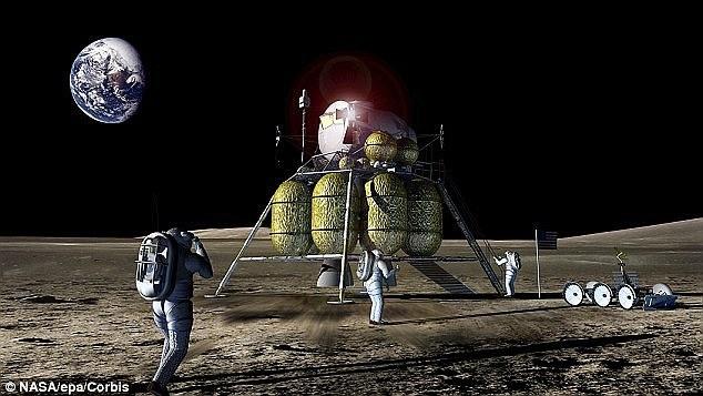 """美国宇航局毫不掩饰自己奔赴火星的愿望,但如何实现这个梦想仍是一个未知数。一些专家表示宇航局应考虑重返月球,而后再迈出又一个""""人类的一大步"""",派遣宇航员登陆火星。"""