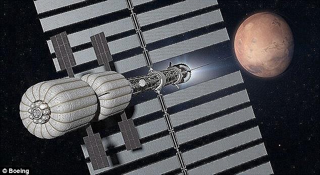 """波音公司表示登陆火星而后返回地球的往返任务需首先完成6个步骤,其中的2个步骤是研制""""猎户座""""飞船和""""太空发射系统""""火箭。目前,这2个步骤已处在进行时。其他4个步"""