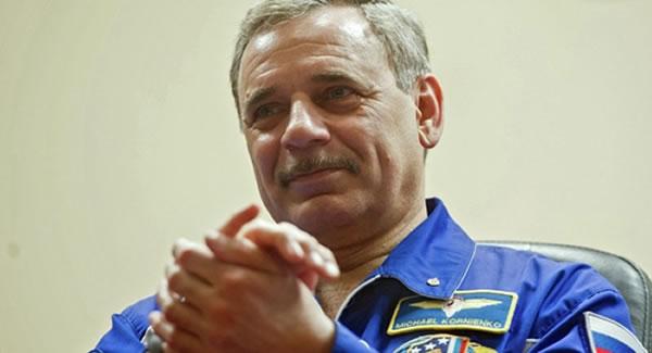 俄罗斯宇航员米哈伊尔•科尔尼延科