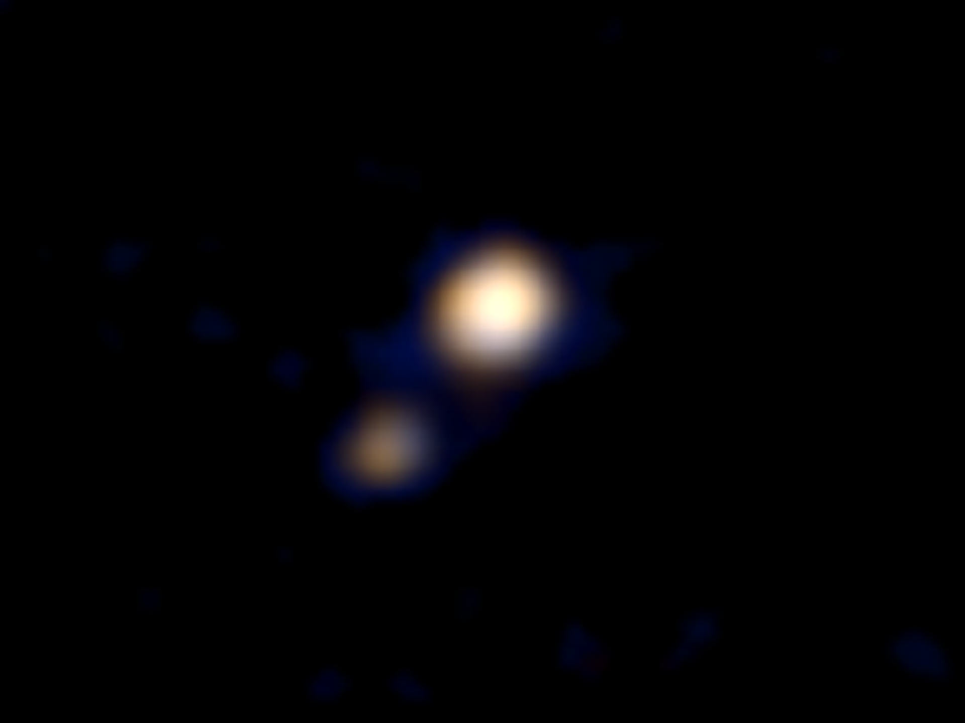 新视野号传回一张冥王星的彩色照片 NASA预计7月可以拍到冥王星表面照片